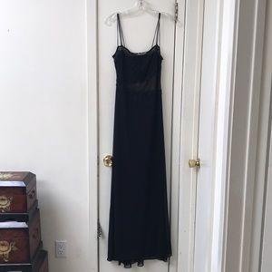 Cacke black long dress